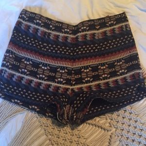 BOGO Small forever 21 boho pattern shorts